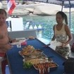 Breakfast onboard Scuba Adventure at the Similan Islands