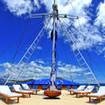Sun seekers will enjoy the Fiji Siren liveaboard's sun deck