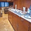 The self service snack bar on the Snefro Spirit liveaboard