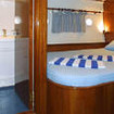 Sharm El Sheikh liveaboard accommodation: MY Ghazala I's spacious double cabin