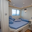 Double bed cabin with seaview windows