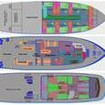 Boat layout plans of Ocean Hunter III