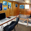 Dive photos and video editing work station, M/V Sea Hunter