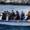 Excited divers all set to experience world famous Galapagos Islands diving