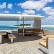 View from Adora's sundeck of the Maldives atolls