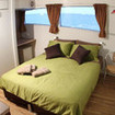Deluxe double bed cabin with seaview windows