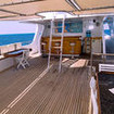 Miss Nouran is equipped with a spacious shaded and open sun deck
