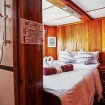 Double bed ensuite cabin on M.V. Manta Queen 8