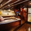 Double bed cabin on the lower deck of the Philippine Siren
