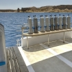 Full tanks await you on the dive deck