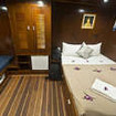 The Master cabin, MV Giamani