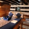 Standard double bed cabin aboard the Moana
