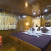 Double bed Master cabin on the main deck