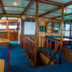 Main deck saloon with entertainment and image/video editing