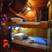 A Standard twin bed cabin on Manta Queen 6
