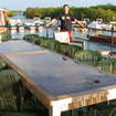 Tortuga's large open air deck for socalising and dining