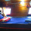 Typical bunk bed on Wicked Diving's Indonesian liveaboard