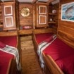 KLM Kira Kira liveaboard Standard lower deck twin bed cabin