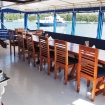 Outdoor dining & relaxation on MV Emperor Voyager