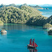 Feel the remote pioneering spirit around the islands of Raja Ampat