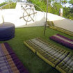 Miss Moon's sundeck for relaxing during your Mergui Archipelago diving trips
