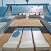Egypt liveaboard, the M/Y Saphir's sun deck