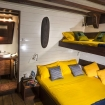 One of Ambai's Standard double/twin bed cabins