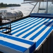Soak up some rays on the MV Empress II sundeck's day bed