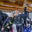 Preparing to dive the World Heritage site, Komodo National Park