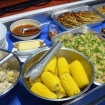 Thai/Western lunch onboard the Andaman Tritan