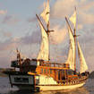 Another view of the Mangguana liveaboard in Komodo