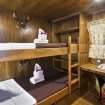Deluxe cabin with bunk beds