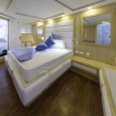 The Master cabin on the lower deck