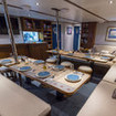 Dining in style on this Raja Ampat liveaboard