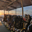 A new day dawns on new diving adventures at Cairns' Outer Great Barrier Reef...