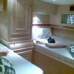 A main deck twin bed cabin