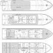 Layout of the 4 decks of Infiniti