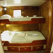 Cocos liveaboard, MV Undersea Hunter's lower deck double/twin share cabin