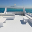 Enjoy the sundeck on your Egypt diving charter