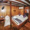 The single cabin on Indonesia liveaboard MSV Amira