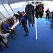 Ample space makes preparation easy for diving the Galapagos Islands