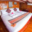 Spacious Master double bed cabin can convert into 2 large twin beds