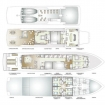 Layout image of Mexico liveaboard - Socorro Vortex