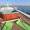 Luxuriate in Avalon I's Jacuzzi during your Cuba liveaboard diving cruise