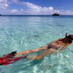 Picturesque snorkeling during your A/S Tui Tai liveaboard diving safari