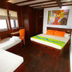 WAOW's Superior double bed cabin