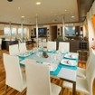 Dine in style on your dive tour in Galapagos on board MV Majestic Explorer