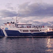 Another view of the Okeanos Aggressor II, Cocos Island liveaboard, Costa Rica