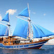 Komodo Island liveaboard diving charters in Indonesia with the Felicia