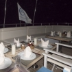 Al fresco dining on your Red Sea liveaboard
